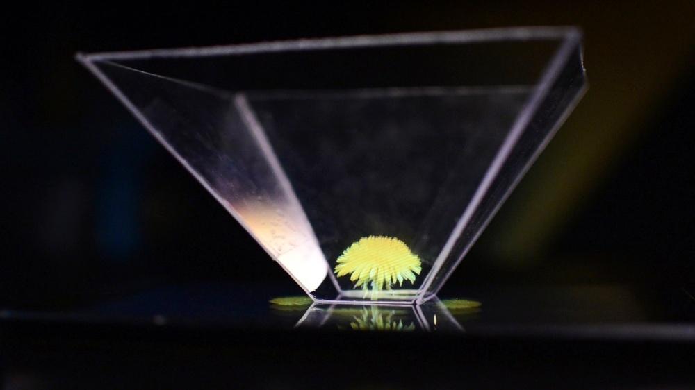 Vlastní 3D hologram