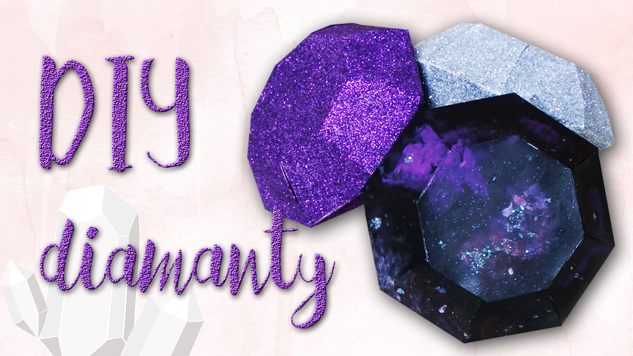 Tvoříme papírové diamanty