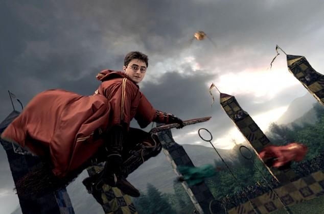Zahrajte si famfrpál jako Harry Potter