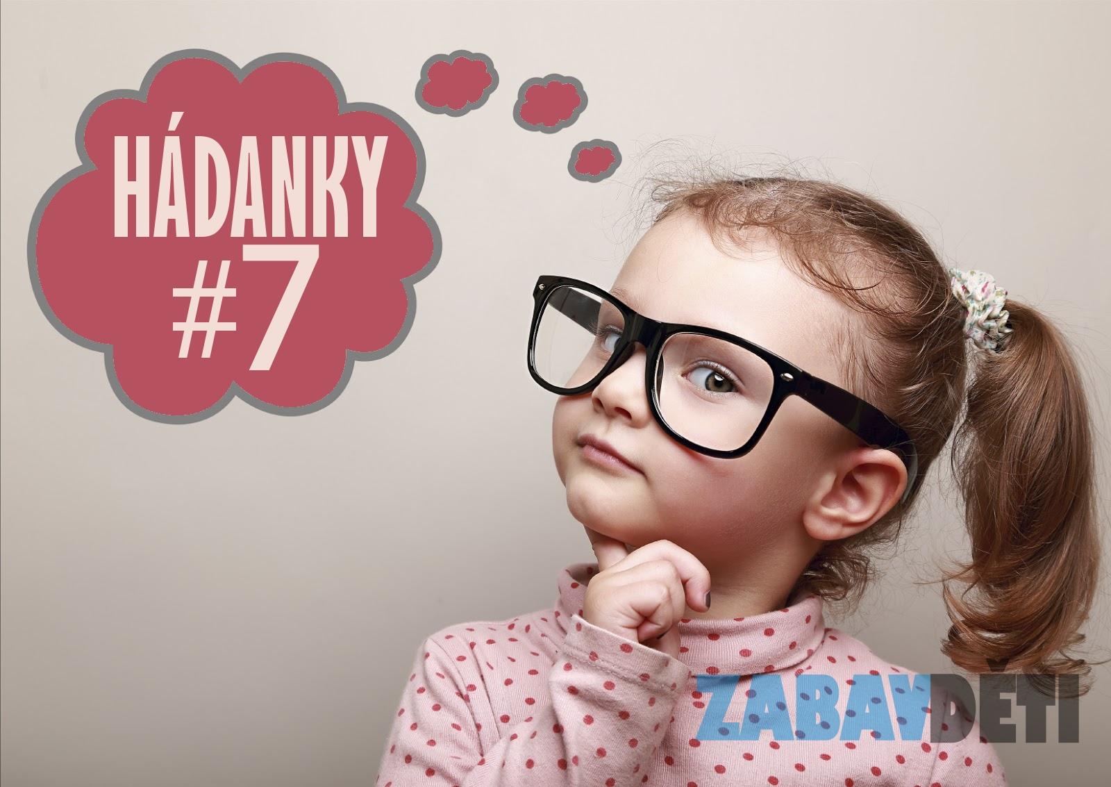 Hádanky pro děti #7