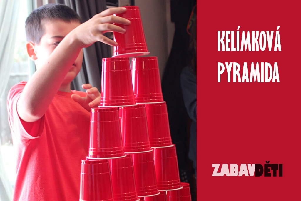 Kelímková pyramida - dovednostní hra či soutěž