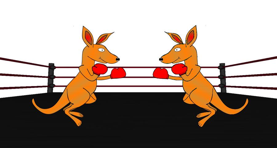 Klokaní wrestling