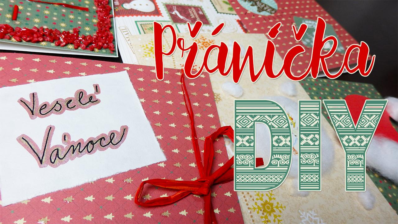 Originální vánoční přáníčka, které můžete mít i vy!