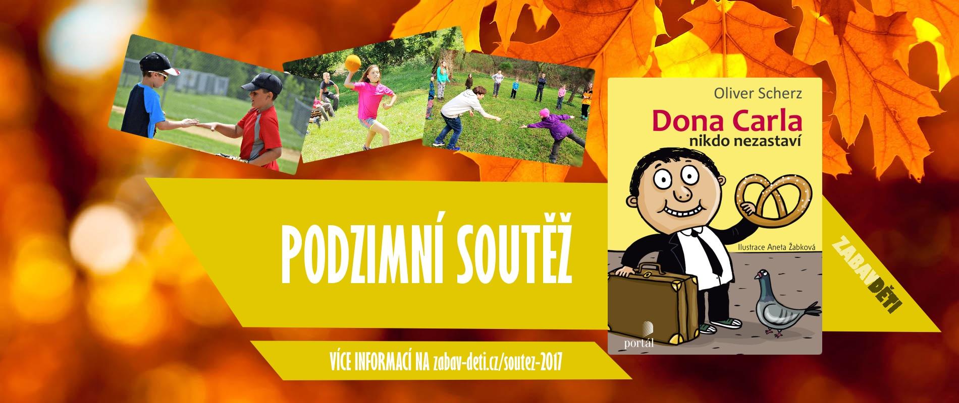 Podzimní soutěž o napínavou knihu pro děti
