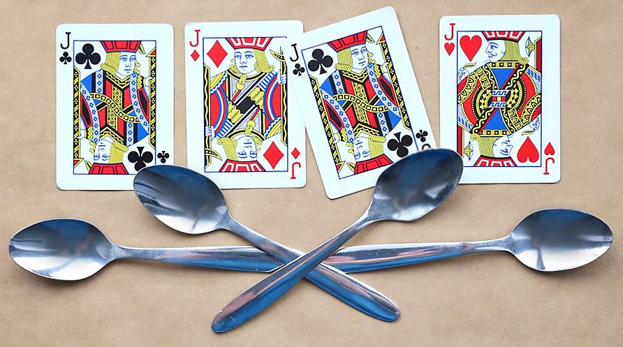 Karetní hra Spoons