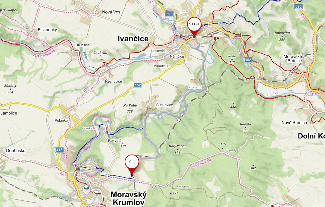 Výlety po jižní Moravě #10: Moravský Krumlov