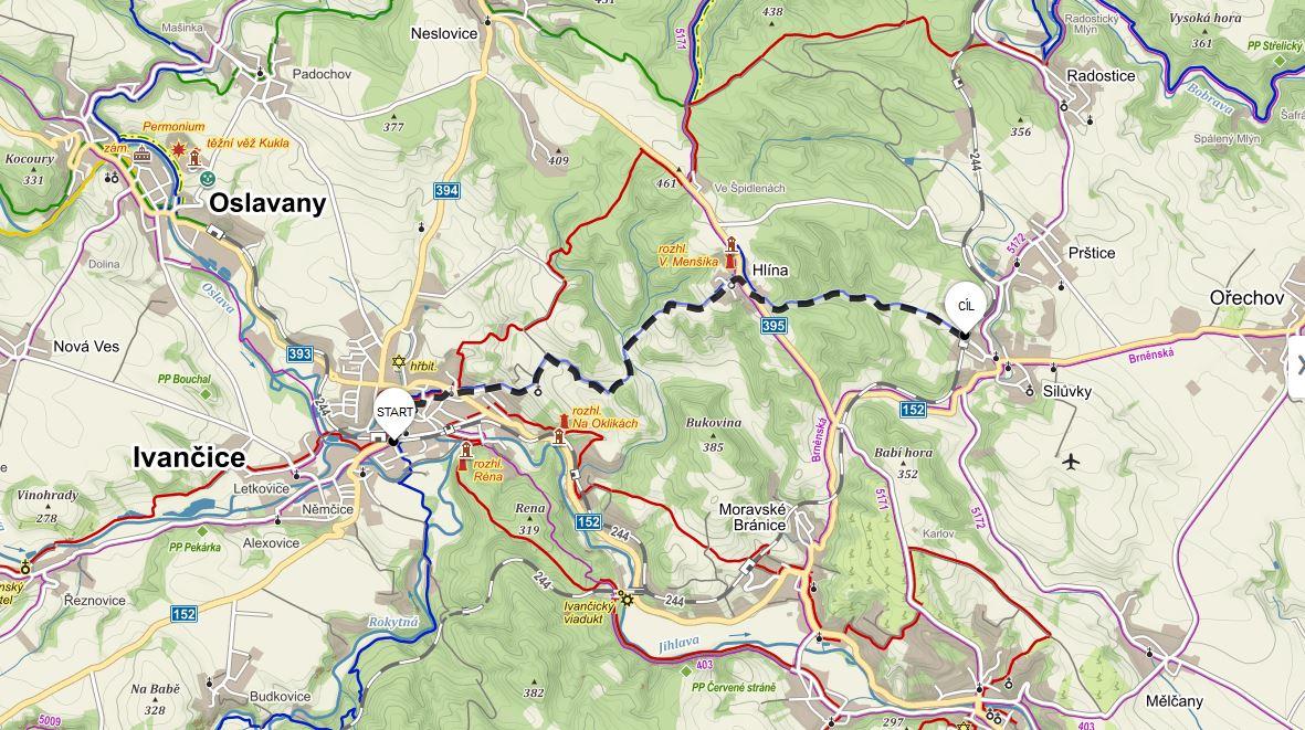 Výlety po jižní Moravě #1: Z Ivančic do Silůvek