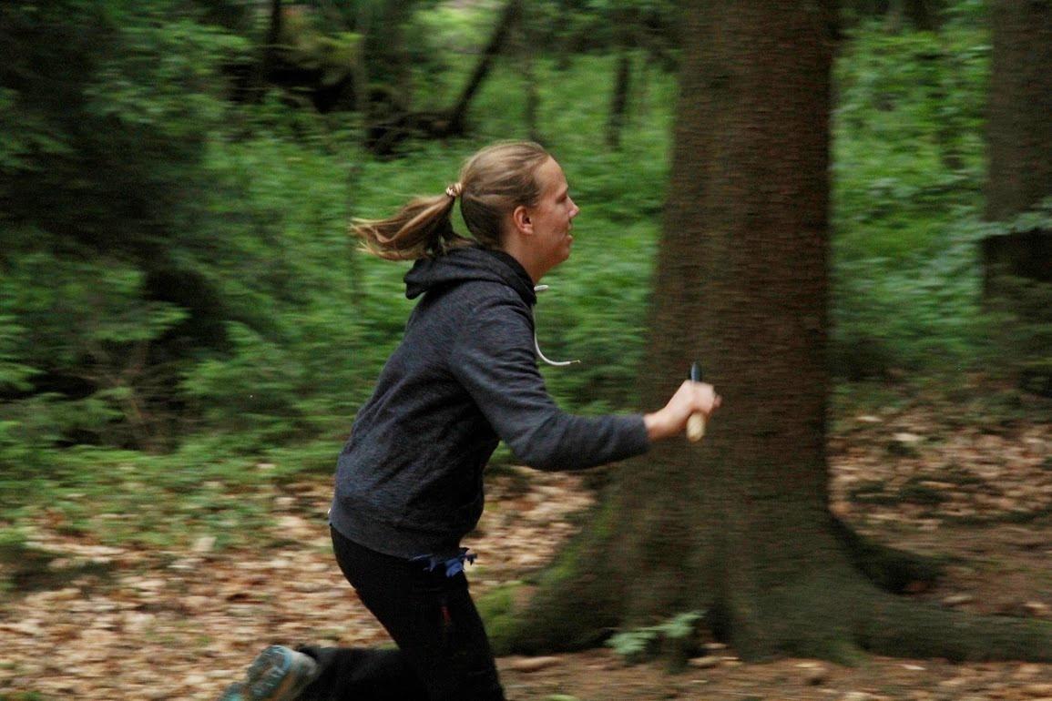Běh s kolíkem
